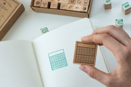 stempel do bullet journal nawyki