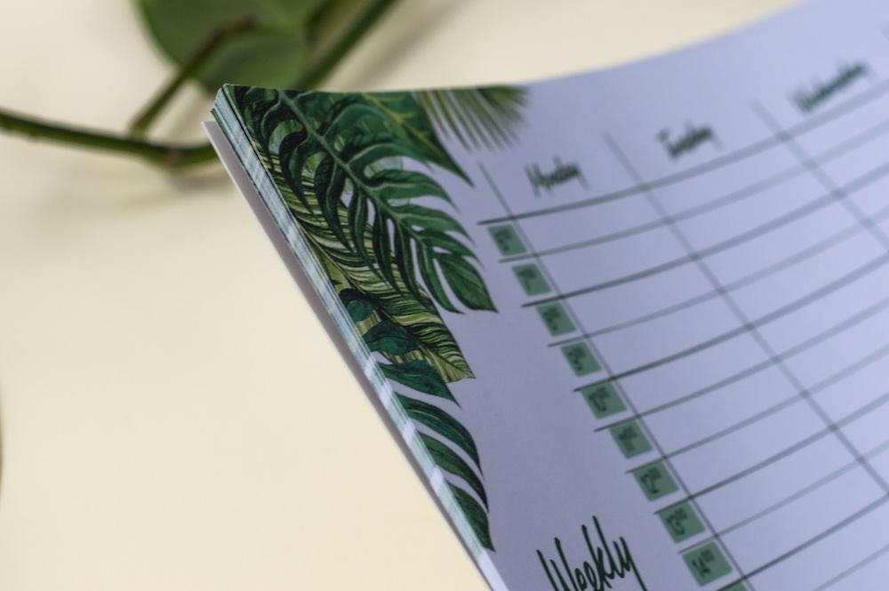 podkładka na biurko a3 tropiki