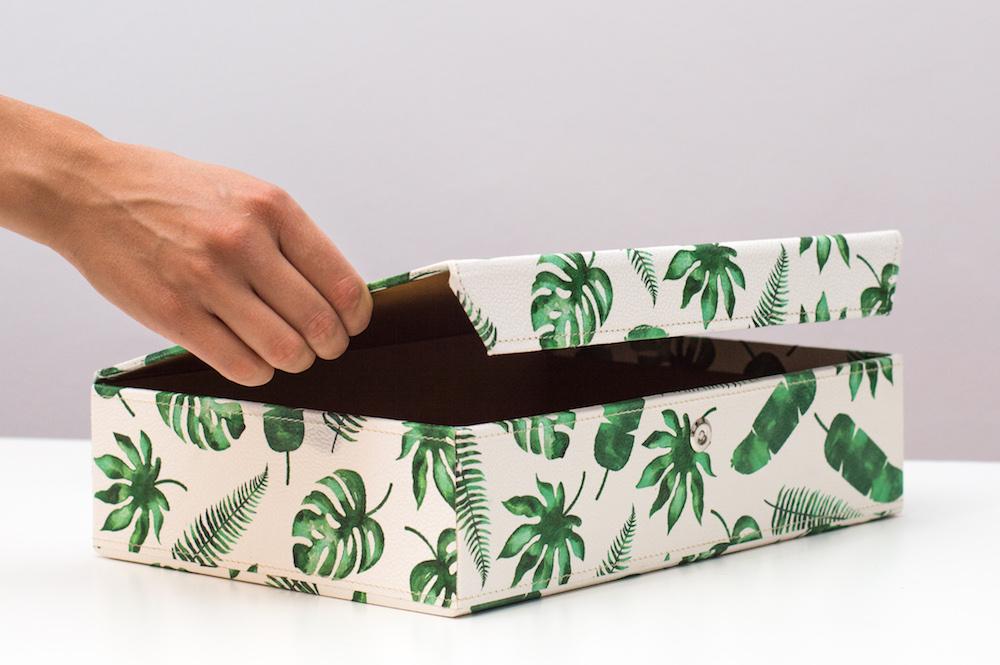 pudło na dokumenty a4 tropiki