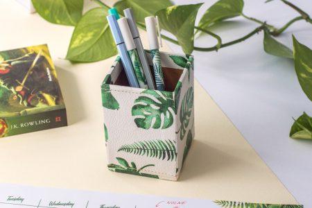 organizer na biurko tropiki
