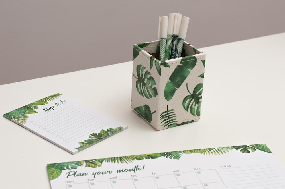organizer na długopisy tropiki