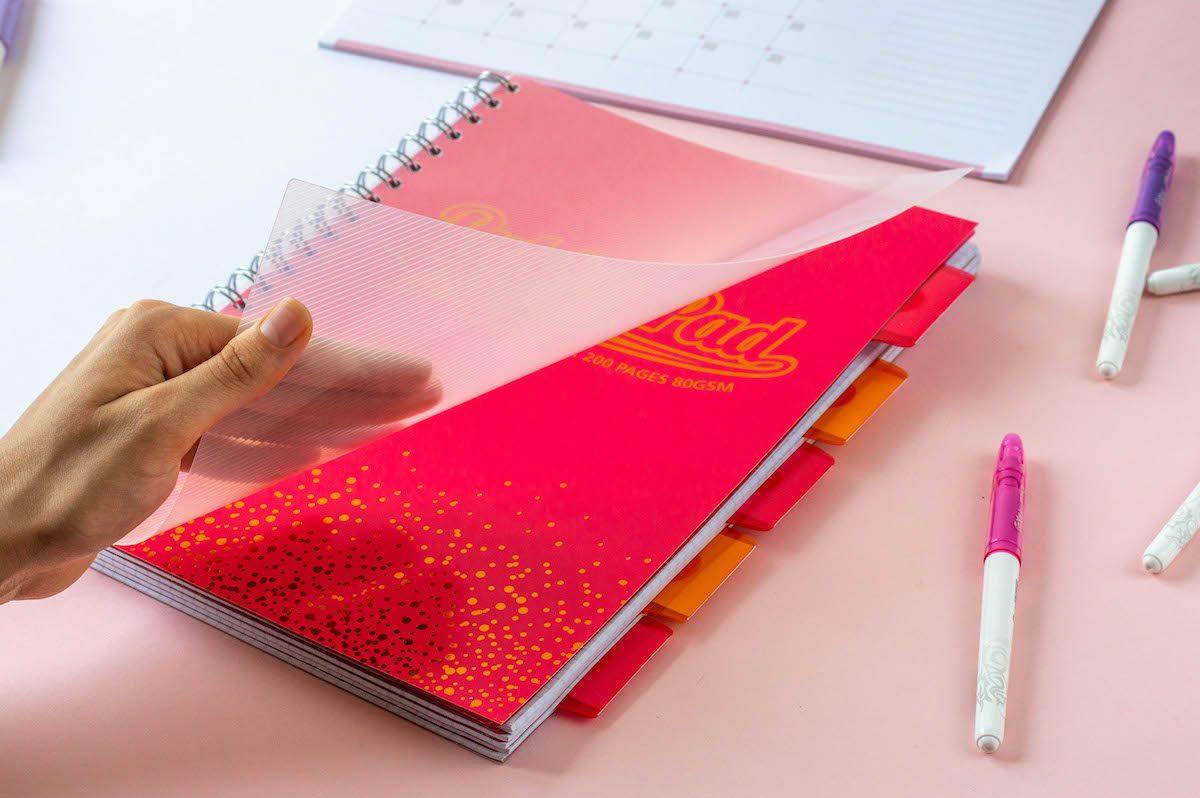 zeszyt pukka pad różowy