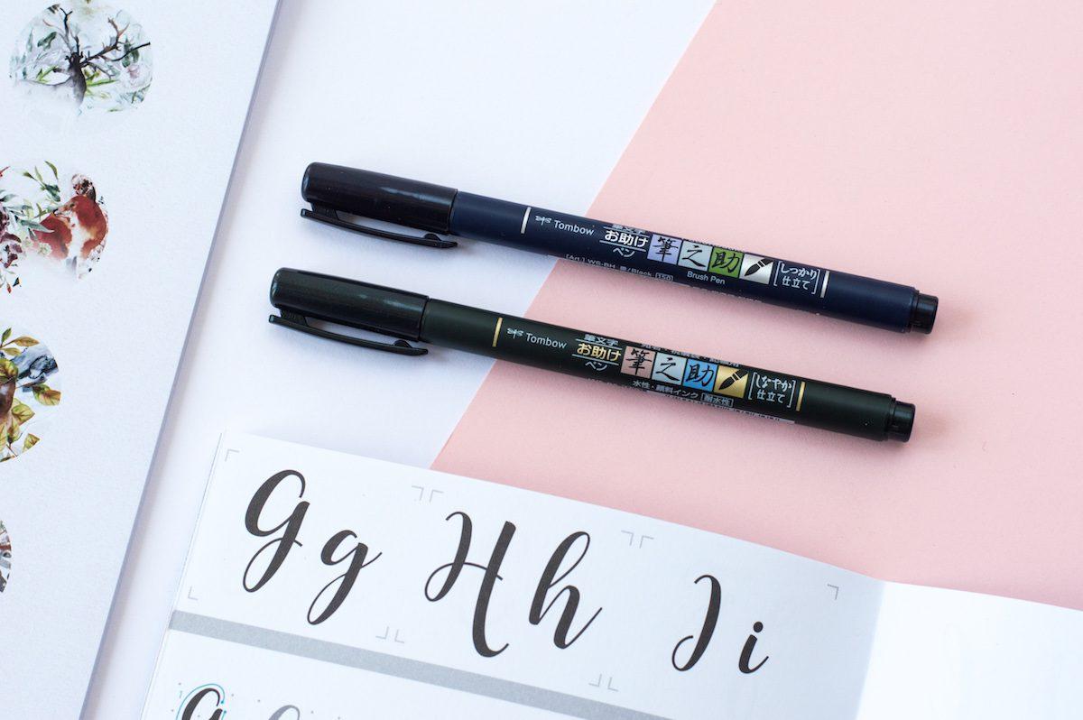 brush pen do kaligrafii Tombow Fudenosuke