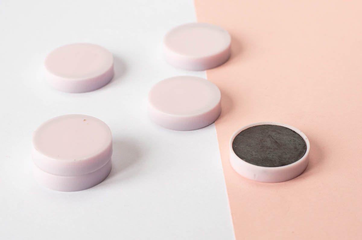 magnesy na tablicę kółka