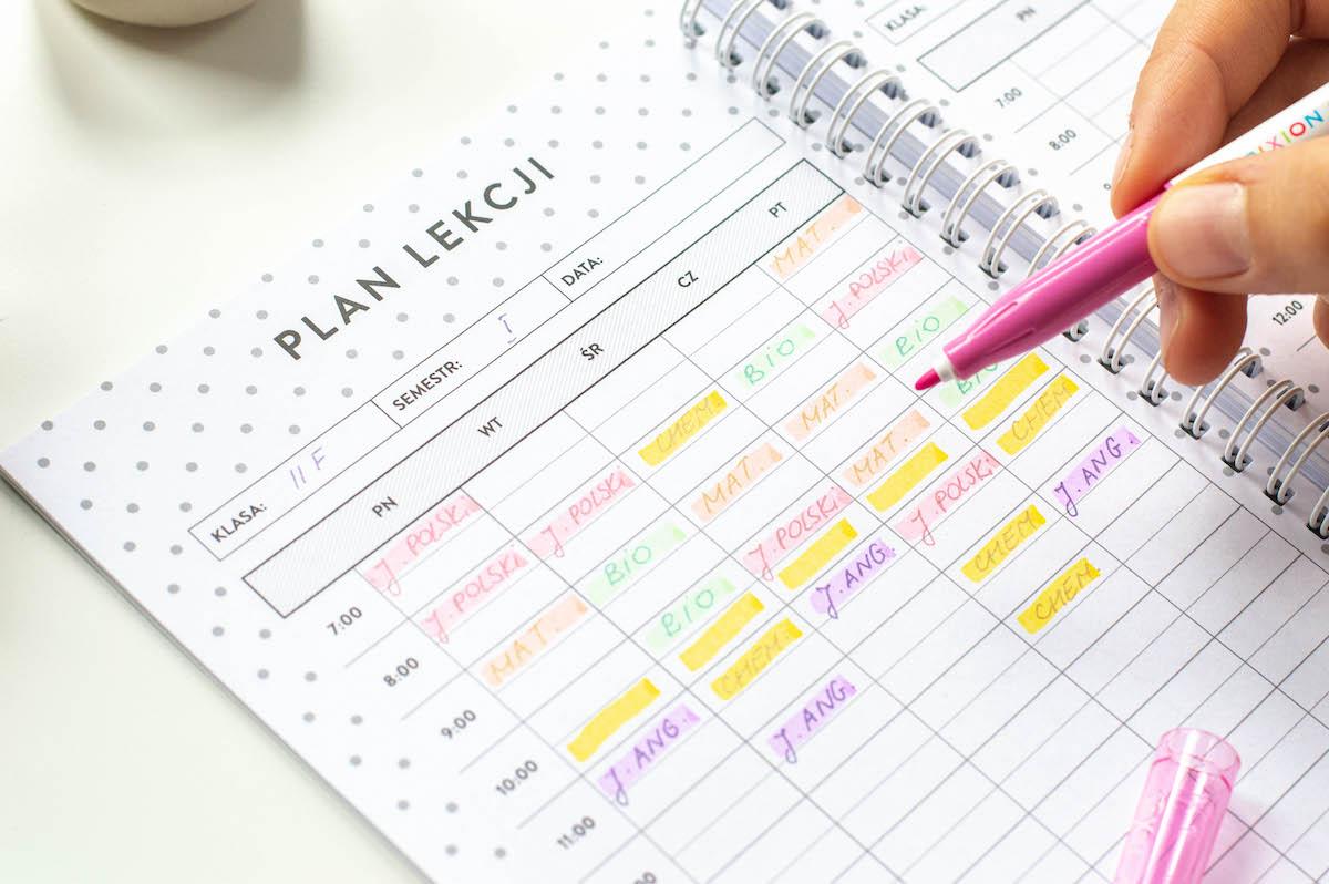 planer-ucznia-plan-lekcji