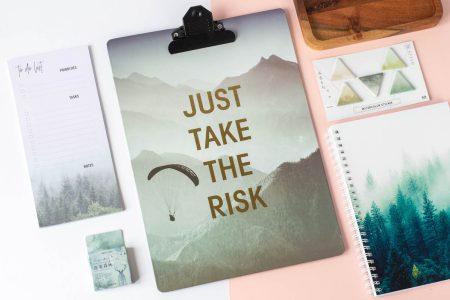 podkładka z klipsem risk 1