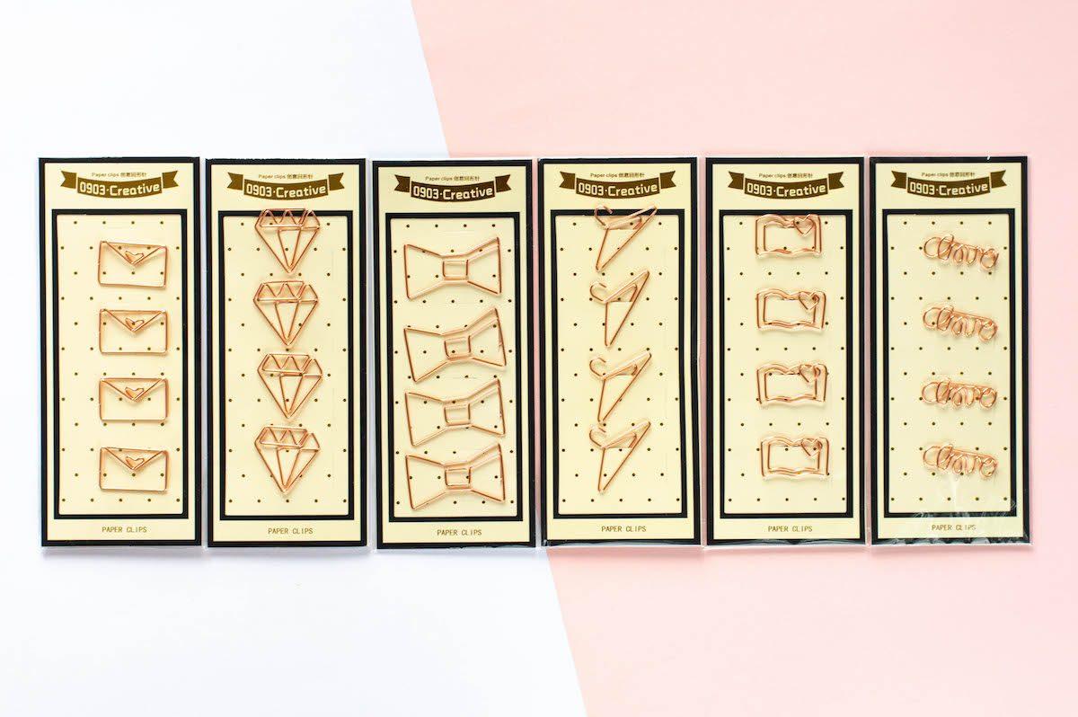 spinacze biurowe różne zestawy 2
