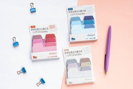 karteczki indekujące, zakładki kolory