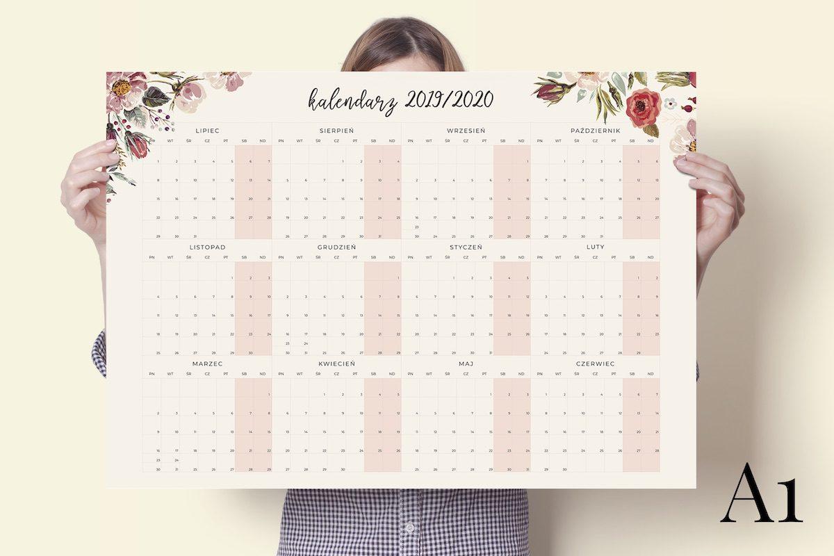 a1-floral-2019-2020-kalendarz