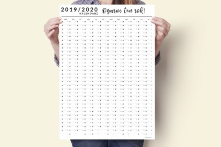 a2 kalendarz plakat xxl 2019 2020 4 450x300 - Planer Kalendarz ścienny 2019/2020 i 2020 | Kalendarz plakat