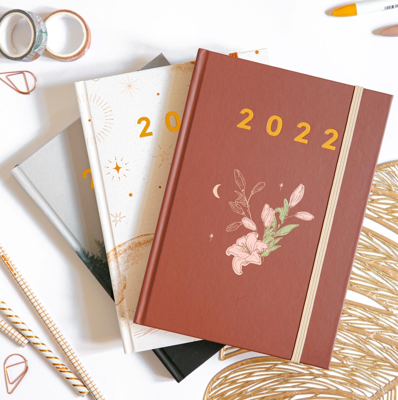 Planer książkowy 2022 OgarniamSię Vintage