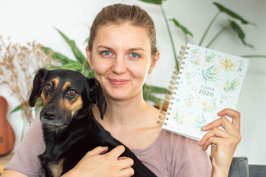 planery 2020 zielnik pies