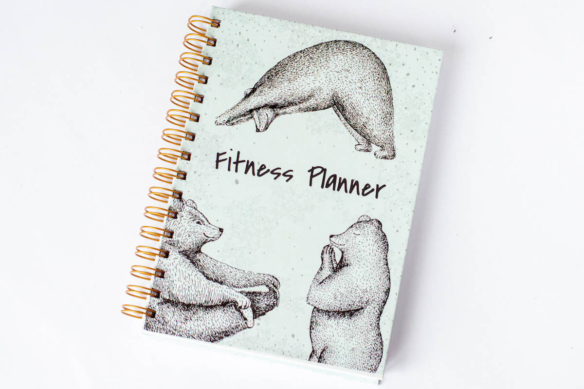 FitnessPlanner MisJoga - Fitness Planner OgarniamSię