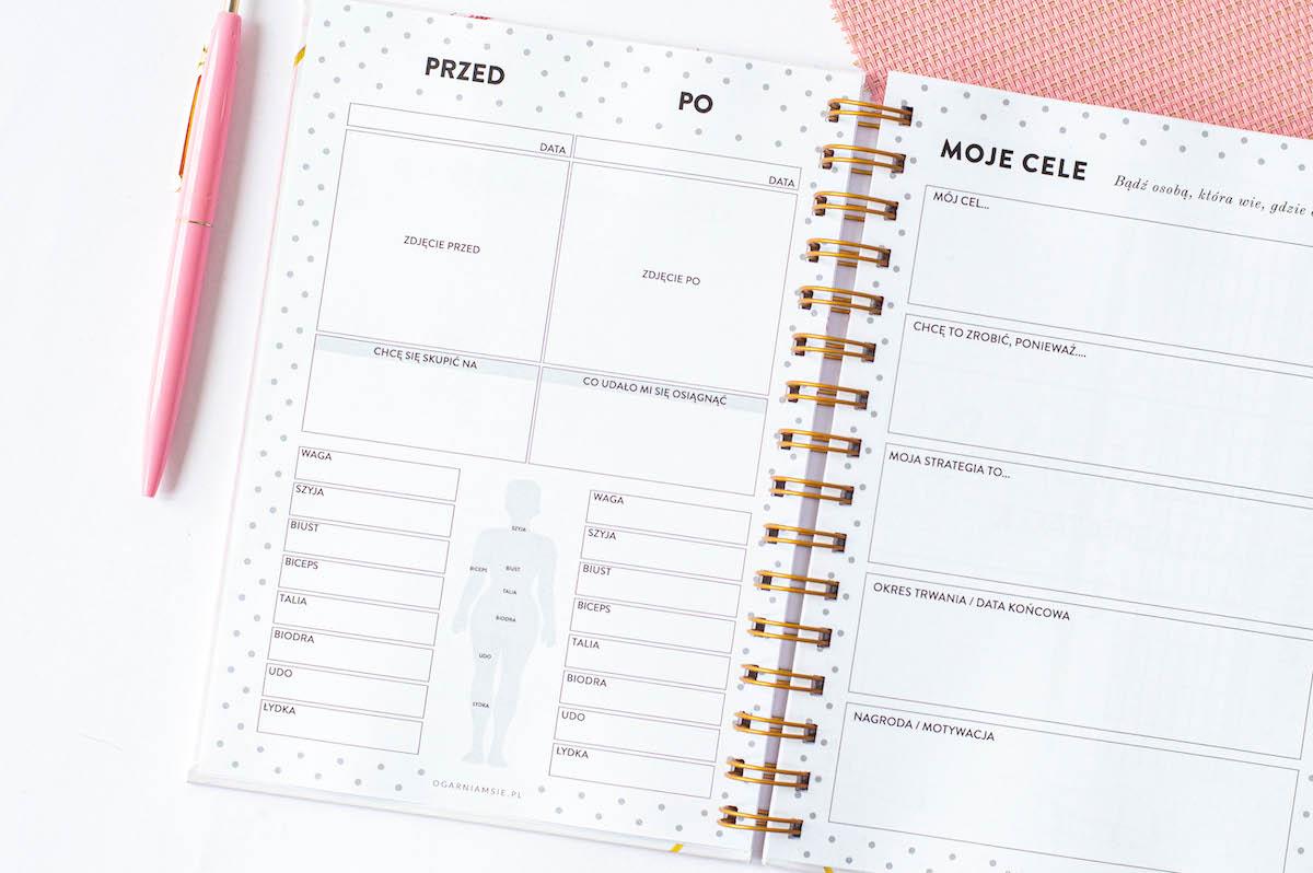 fitnessplanner kobiecy - Fitness Planner