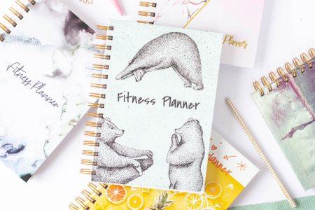 fitnessplanner okladki 450x300 - Fitness Planner OgarniamSię