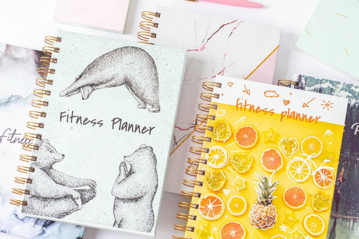 fitnessplanner okladki2 - Fitness Planner OgarniamSię