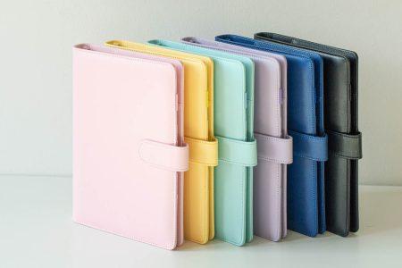 Okładka na organizer, wszystkie kolory w pionie