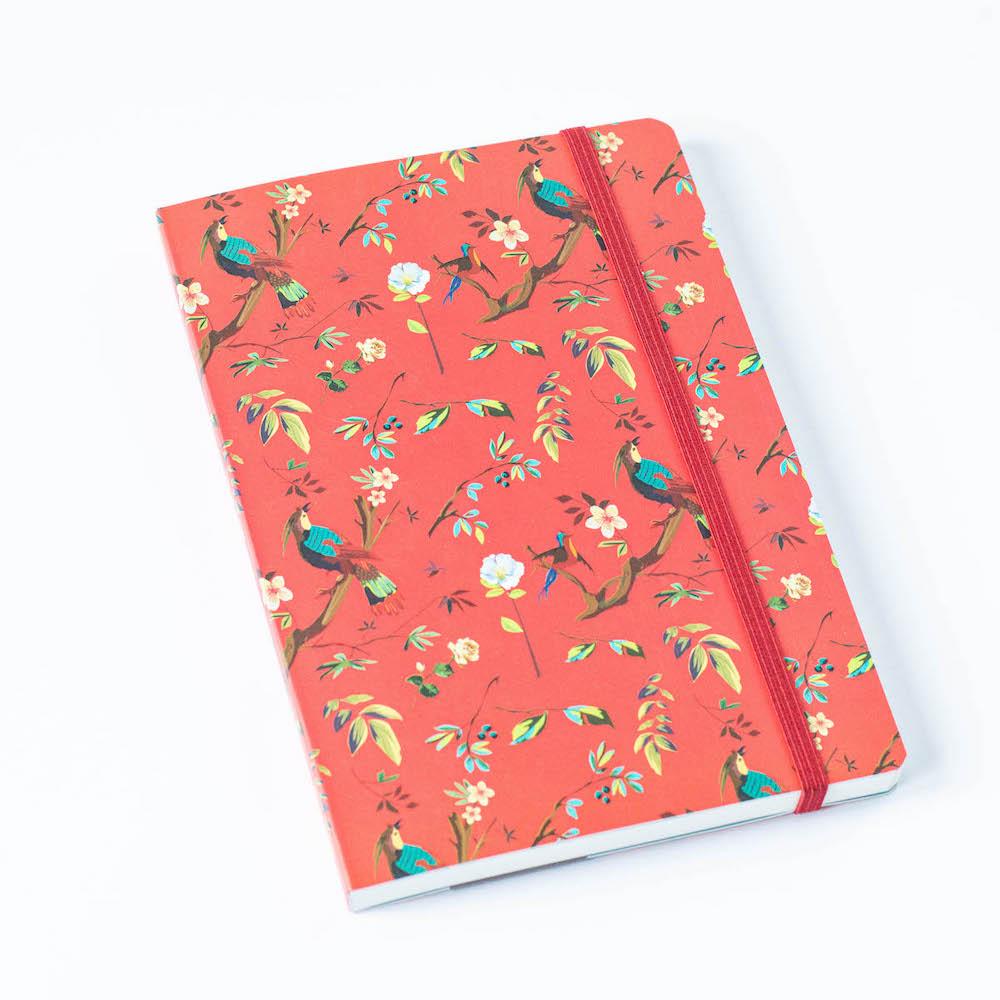 Bullet Journal, egzotyczna czerwień