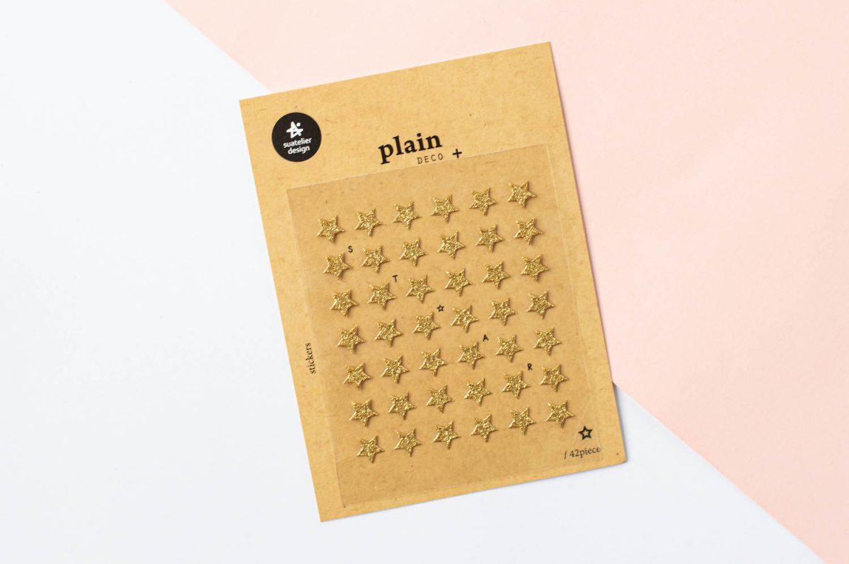 Błyszczące naklejki do planera i bullet journal | Różne wzory