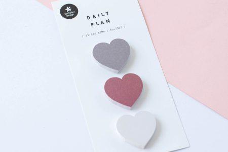 naklejki suatelier karteczki serca 1