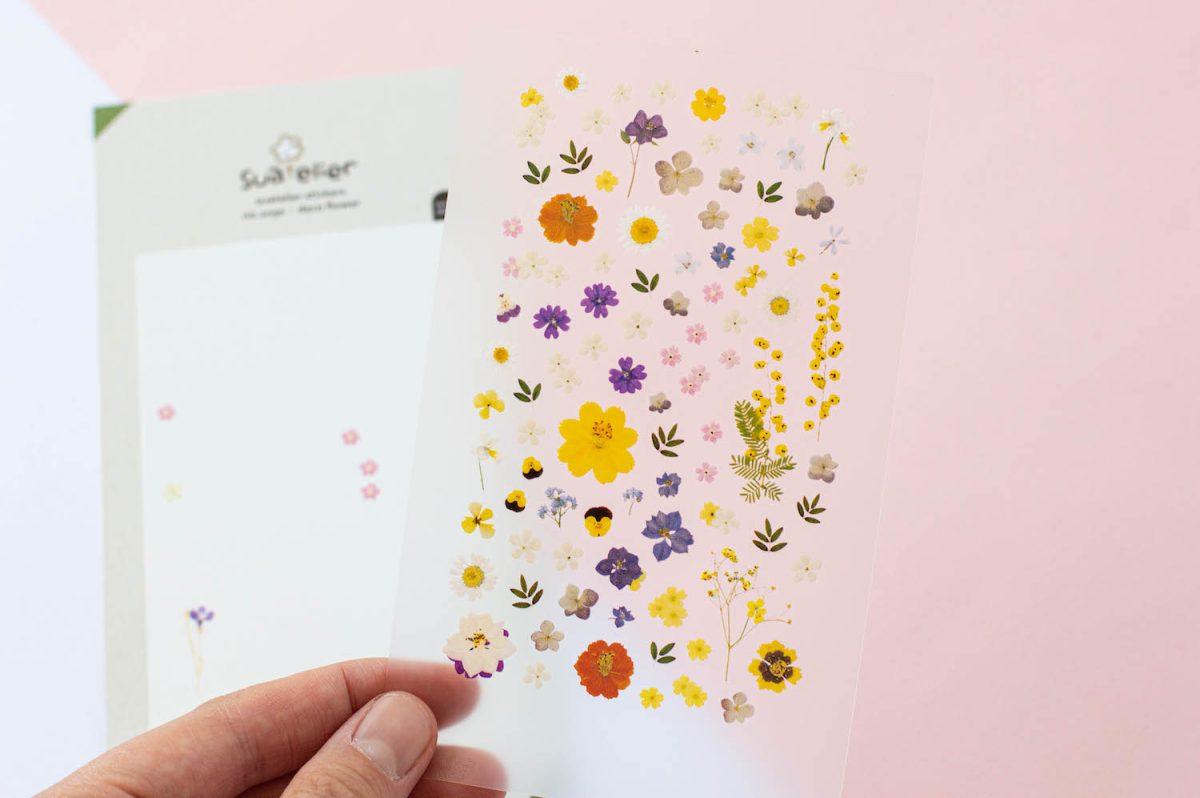 naklejki suatelier kwiatowe kwiaty lata 2