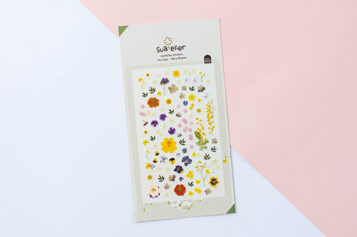 naklejki suatelier kwiatowe kwiaty lata 3