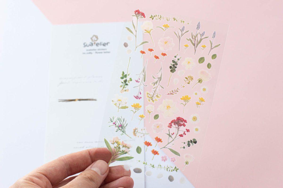 naklejki suatelier kwiatowe polne kwiaty 2