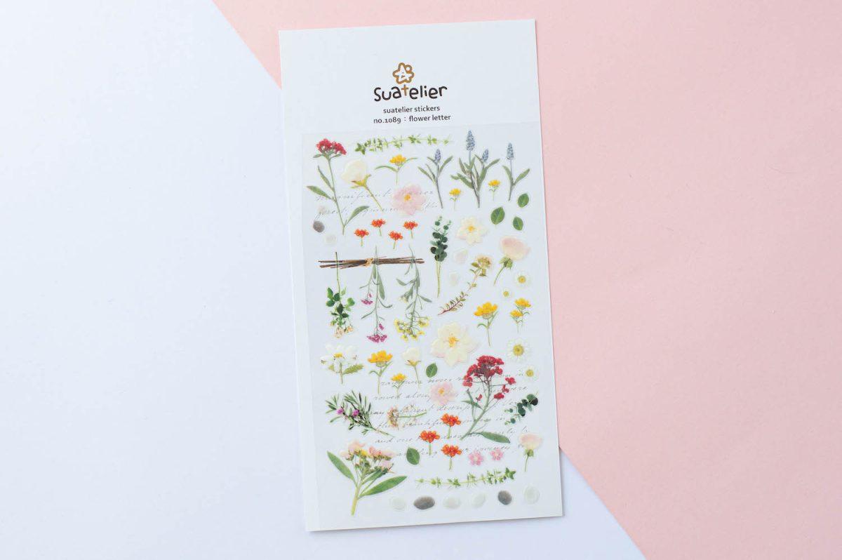 naklejki suatelier kwiatowe polne kwiaty 3