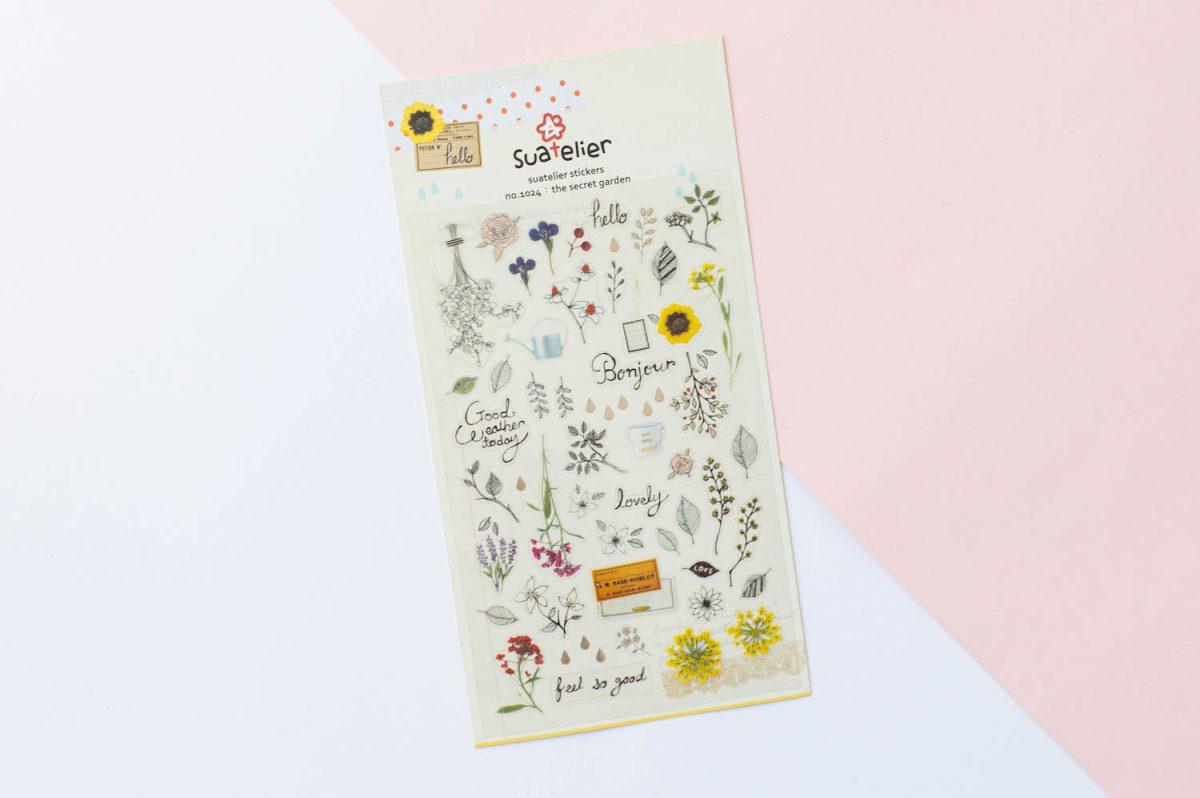 naklejki suatelier kwiatowe tajemniczy ogród 3