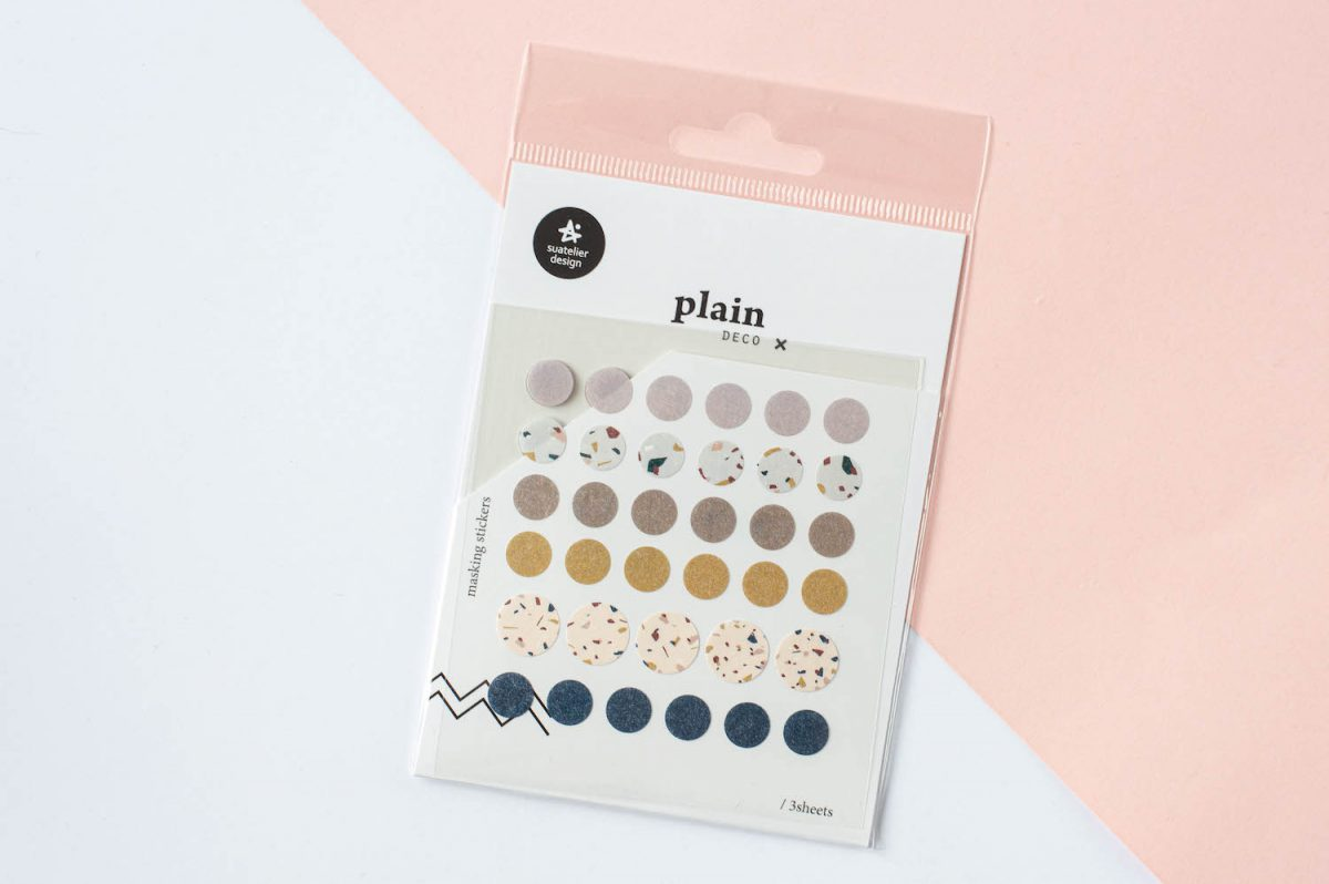 naklejki suatelier papierowe kolorowe kółka 3