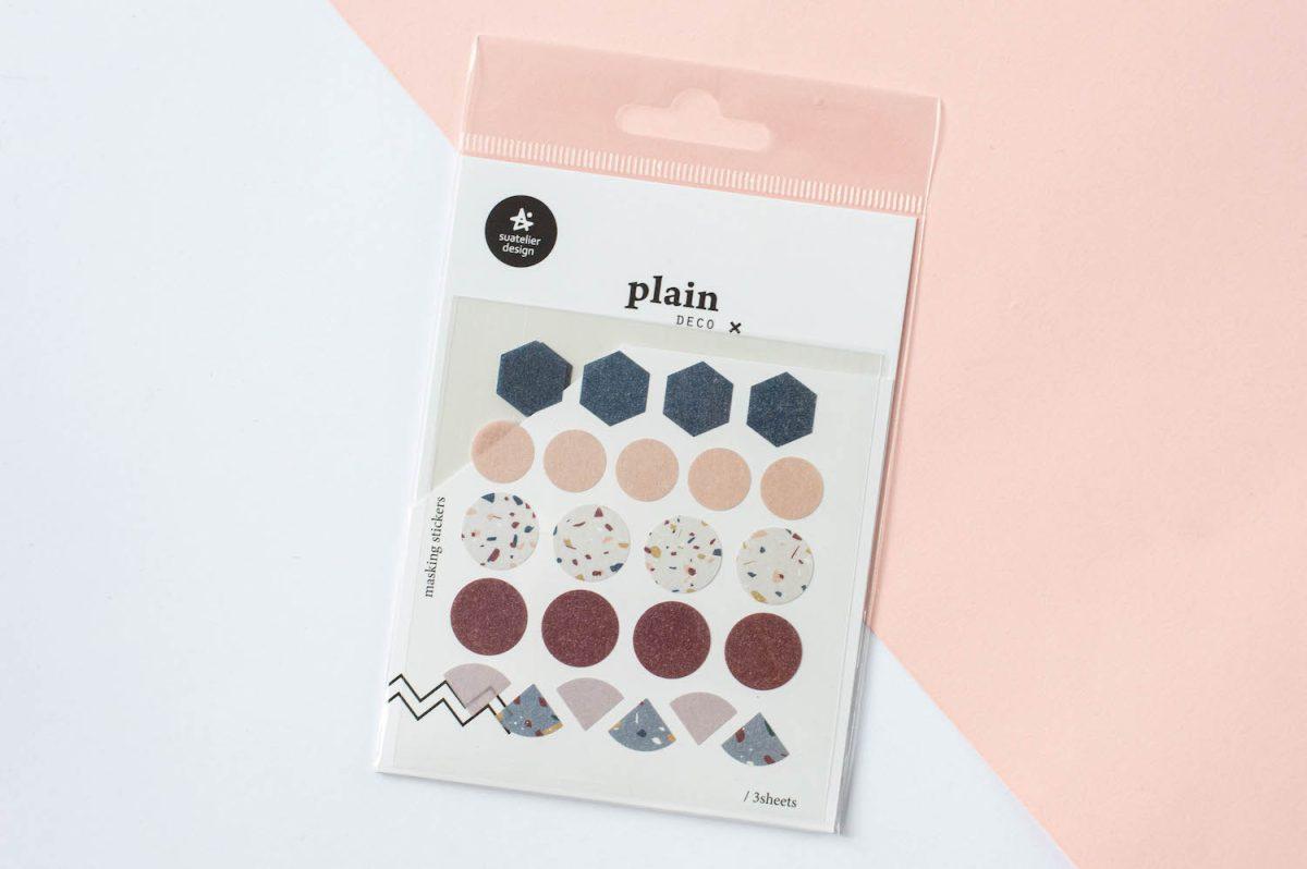 naklejki suatelier papierowe kolorowe kształty 3