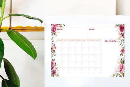 A3-planer-magnetyczny-miesieczny-kwiaty-mockup