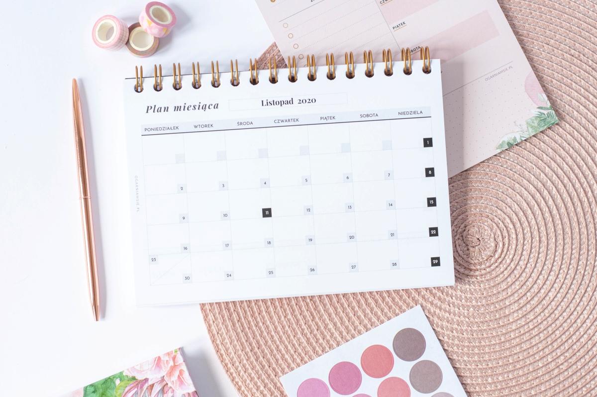 Kalendarz miesieczny