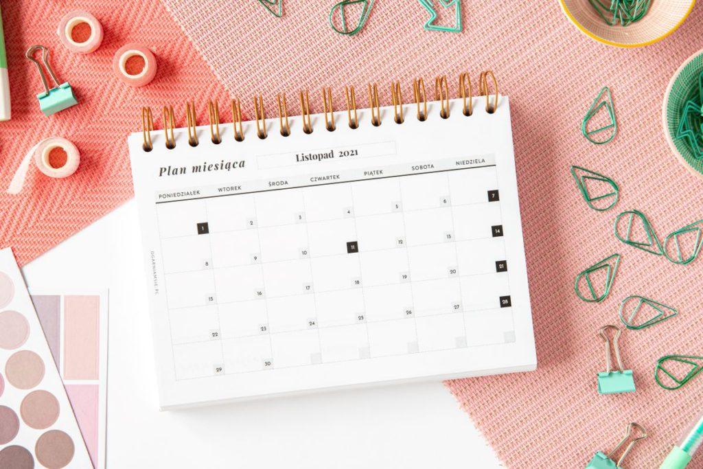 planer studenta planer miesięczny 1