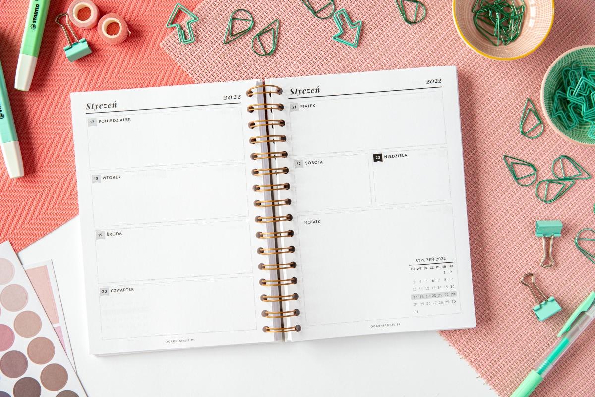 Kalendarze tygodniowe