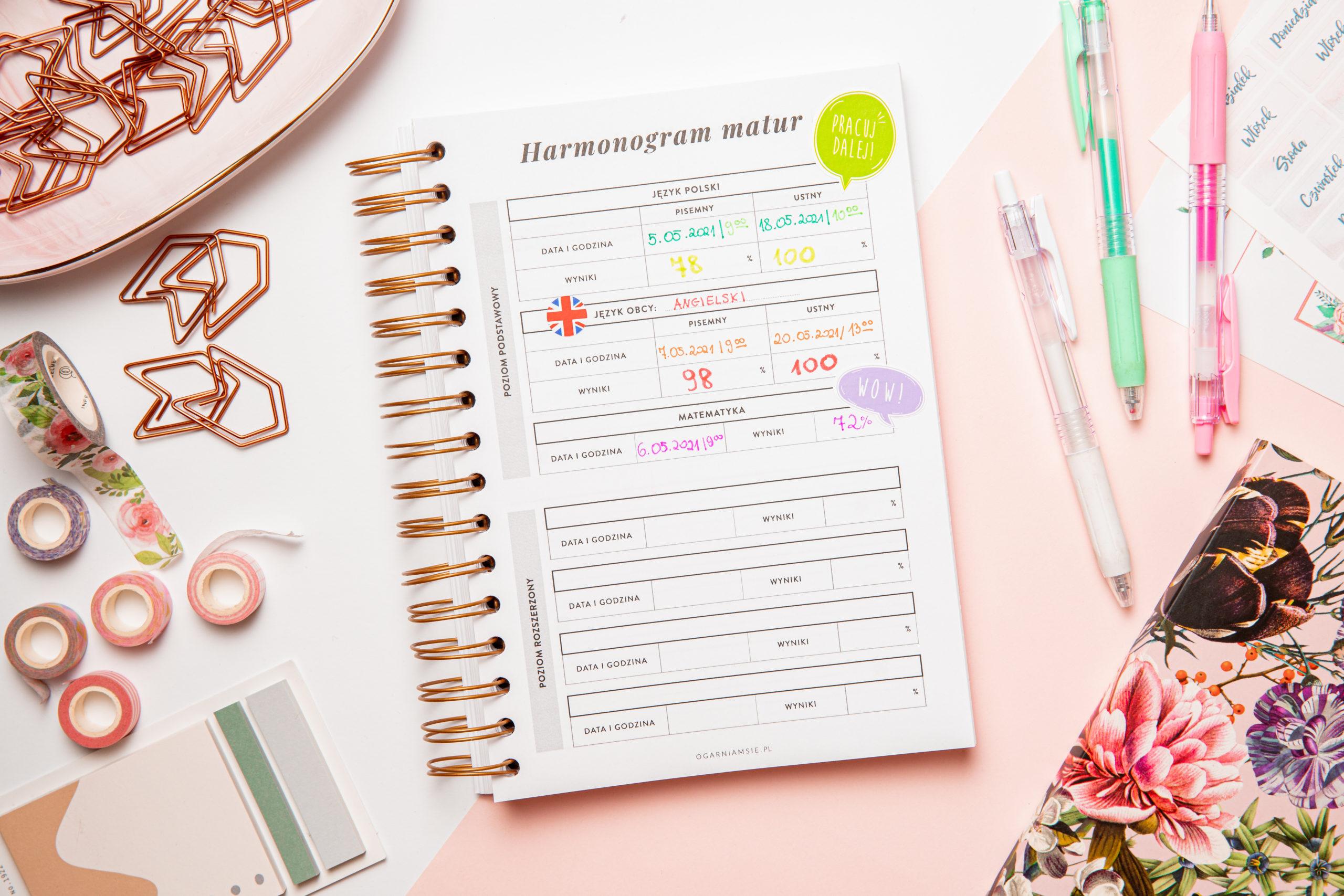 planer-szkolny-harmonogram-matur