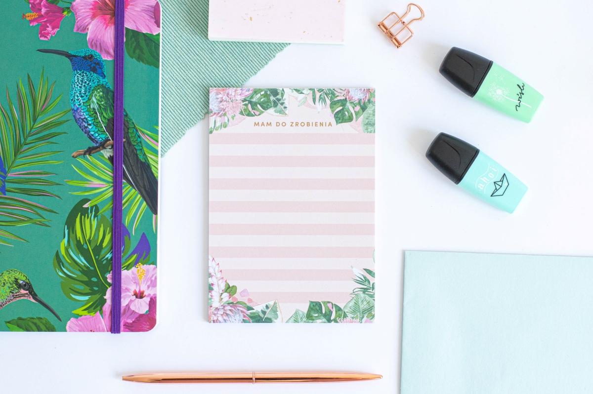 Lista Zadań Kwiaty w Tropikach Notes A6