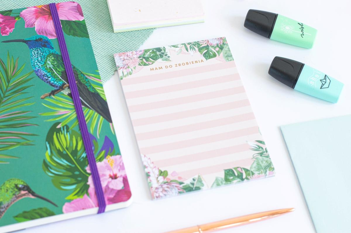 Lista Zadań Kwiaty w Tropikach Notes A6 - 3