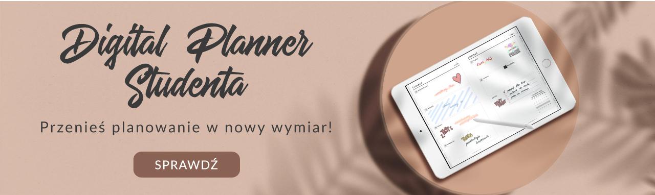 Digital Planner Studenta 2020-2021, banner