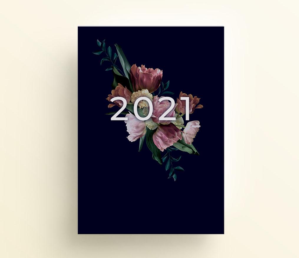 elegant, strona tytułowa do organizera