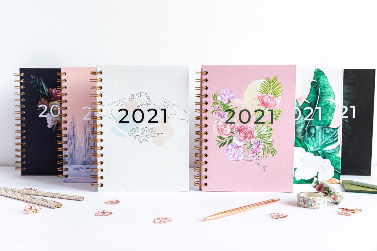 Personalizowany Planer 2021 prezentacja okładek 3