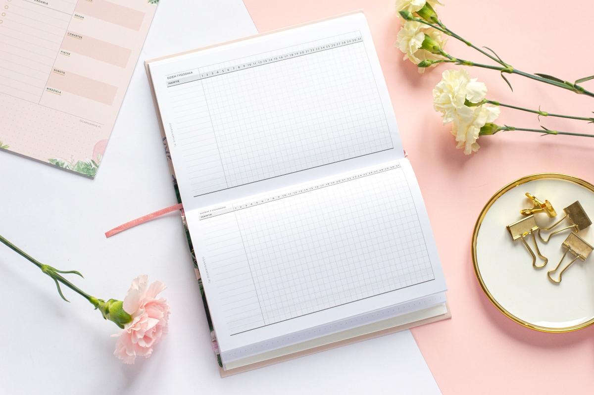Habit tracker Planer Książkowy 2021