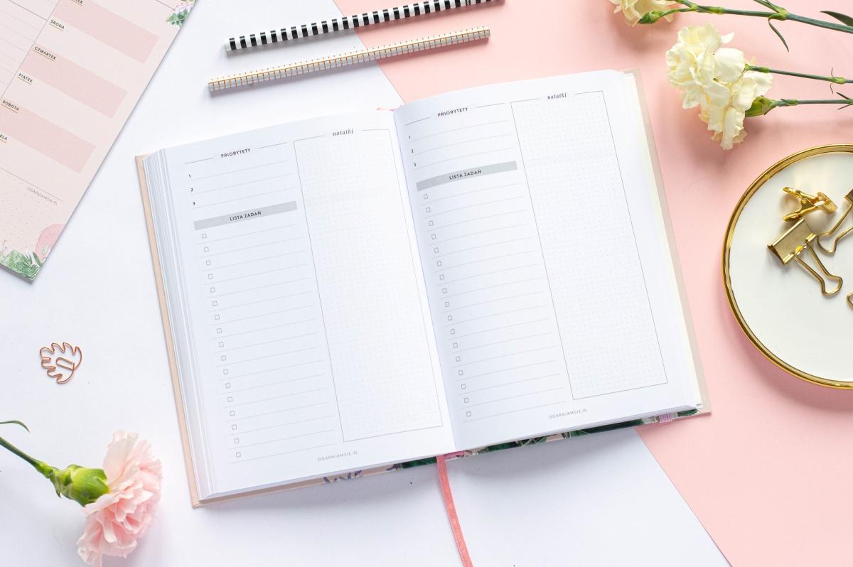 Lista zadań Planer Książkowy 2021