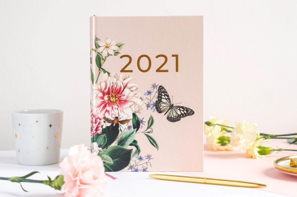 Okładka Wild Garden Planer Książkowy 2021
