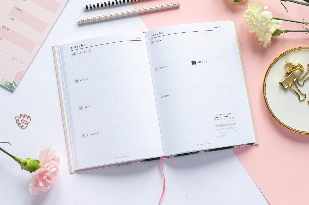 Wkład tygodniowy Planer Książkowy 2021