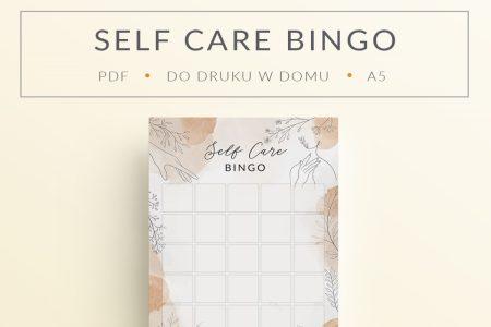 self care bingo mockup