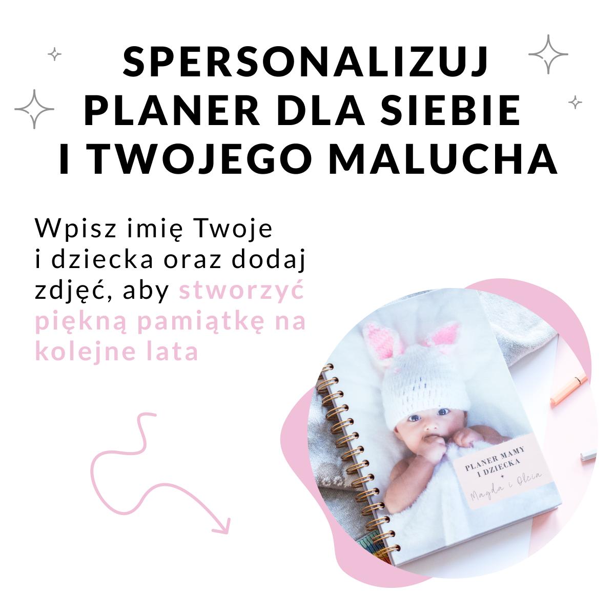 Personalizacja - Planer mamy