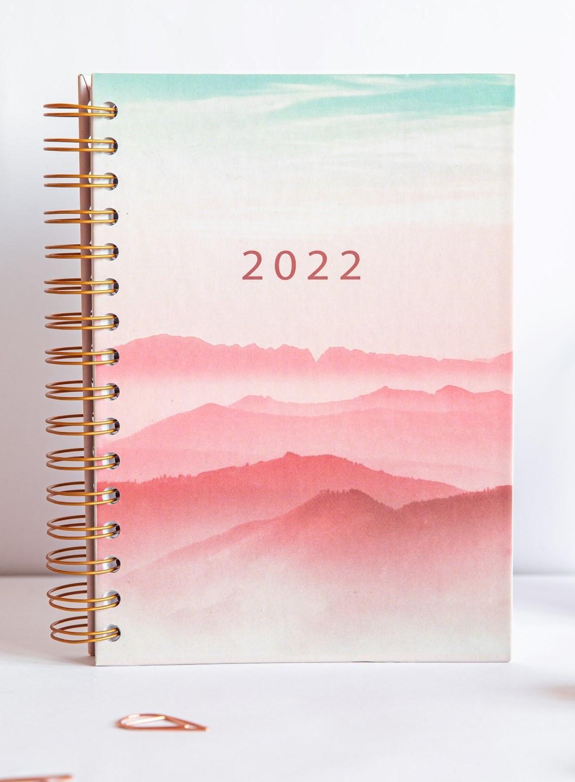 Planer 2022 okładka Sky stojąca