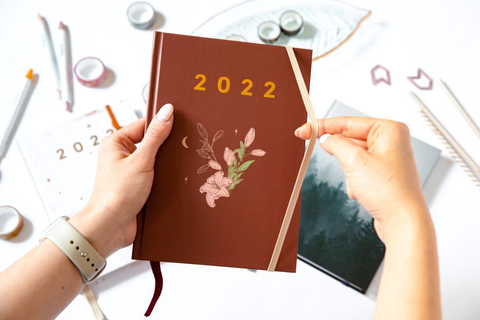 Gumka spinająca planer 2022