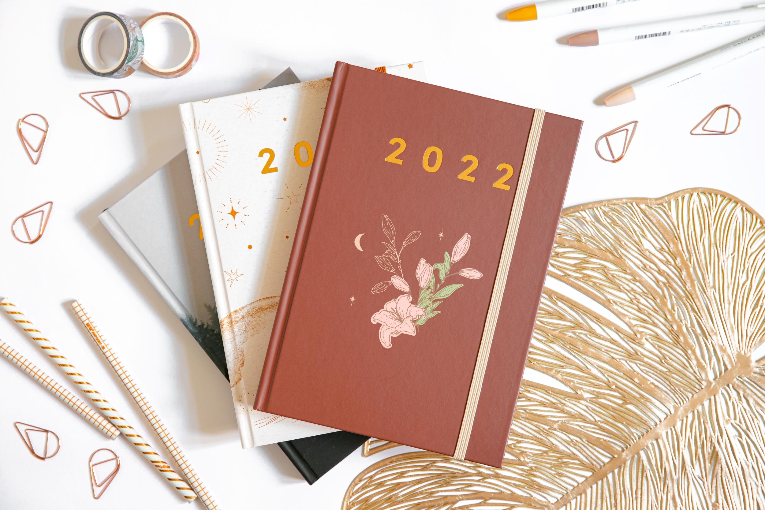 Planer książkowy 2022 OgarniamSię Vintage 2